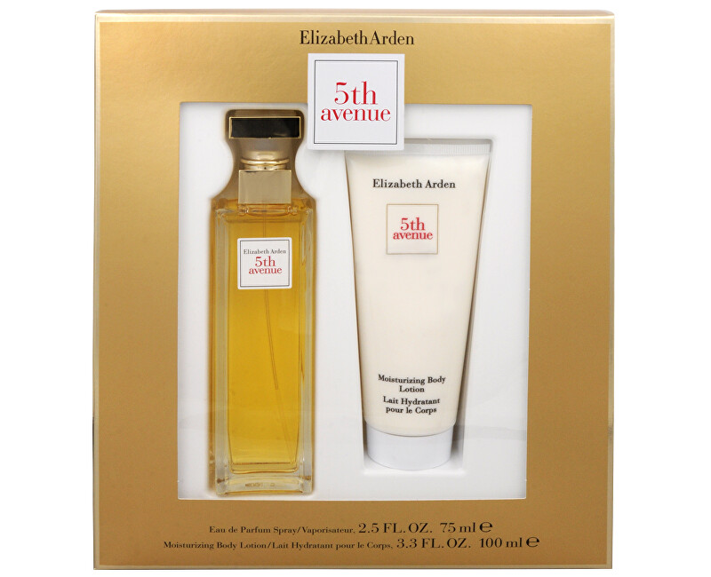 Elizabeth Arden 5th Avenue - EDP 75 ml + lapte de corp 100 ml