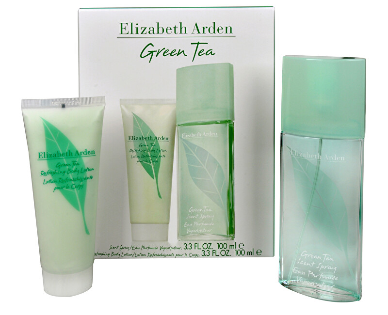 Elizabeth Arden Green Tea - EDP 100 ml + telové mlieko 100 ml