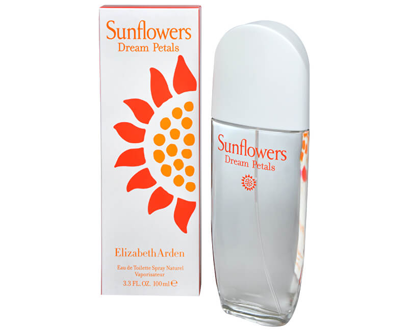 Elizabeth Arden Sunflowers Dream Petals - toaletní voda s rozprašovačem