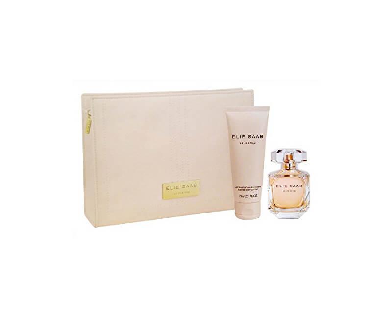Elie Saab Le Parfum - Spray Parfum 50 ml Lotiune de corp + 75 ml + sac de cosmetice