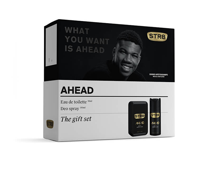 STR8 Ahead - EDT 50 ml + deodorant ve spreji 150 ml