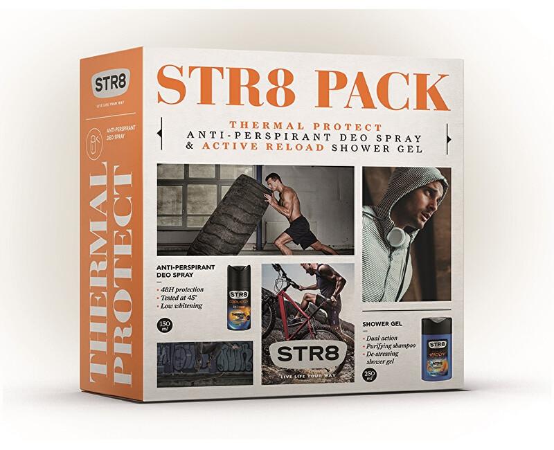STR8 Thermal Protect - deodorant ve spreji 150 ml + sprchový gel 250 ml