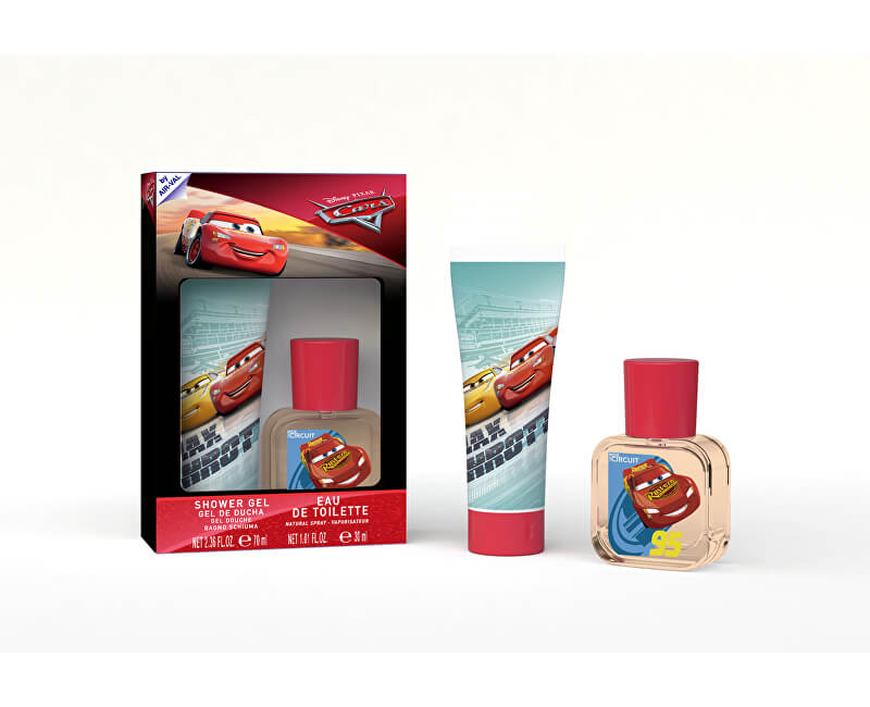 EP Line Cars 3 - EDT 30 ml + sprchový gel 70 ml