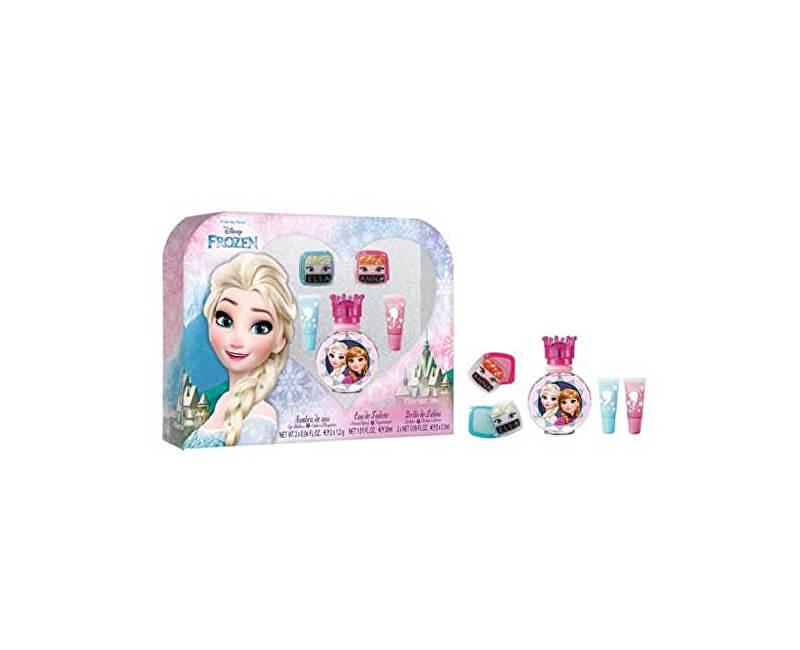 EP Line Disney Frozen - EDT 30 ml + 2x lesk na rty + 2x oční stíny
