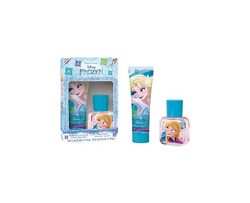 EP Line Disney Frozen - EDT 30 ml + sprchový gel 70 ml