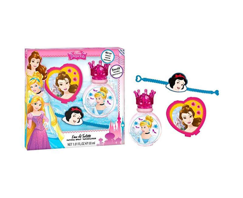 EP Line Princess - EDT 30 ml + náramok + zrkadielko