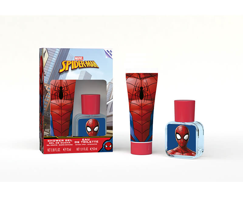 EP Line Spiderman - EDT 30 ml + sprchový gel 70 ml