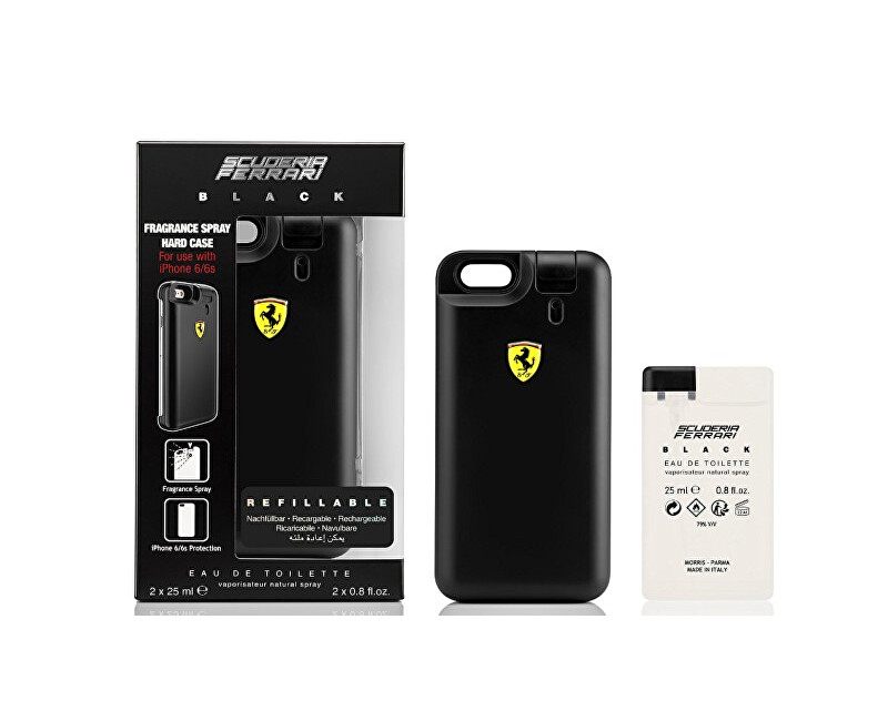 Ferrari Scuderia Black - EDT 25 ml + náplň 25 ml