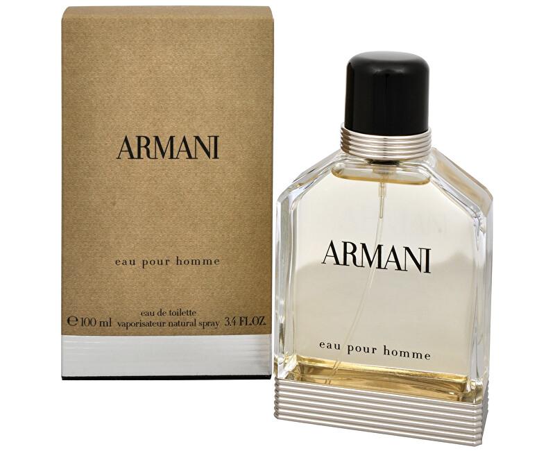 Armani Eau Pour Homme 2013 – EDT - SLEVA - bez celofánu, chybí cca 1 ml