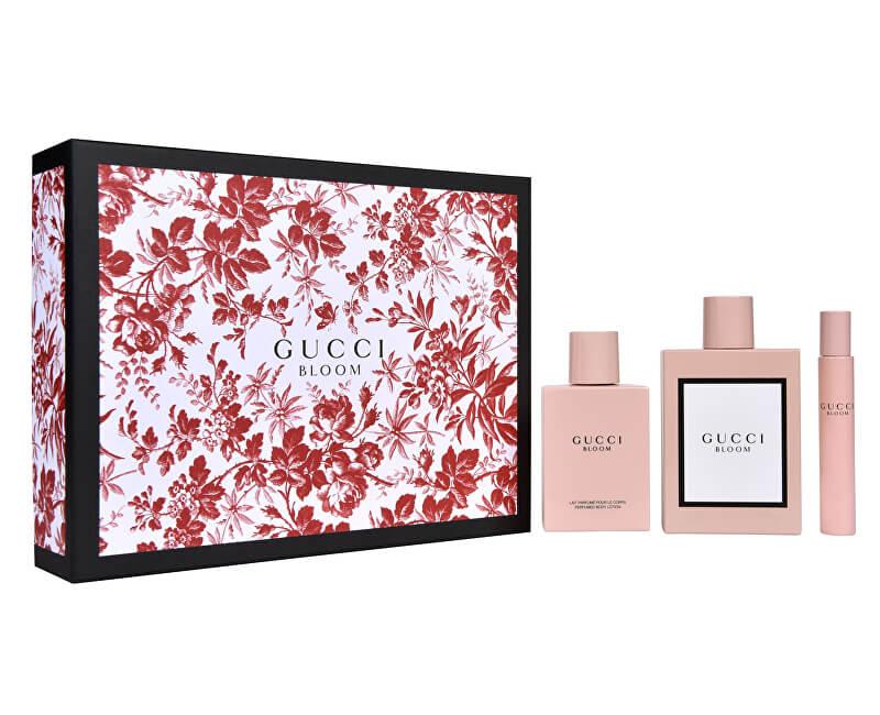 Gucci Gucci Bloom - EDP 100 ml + tělové mléko 100 ml + EDP 7,4 ml