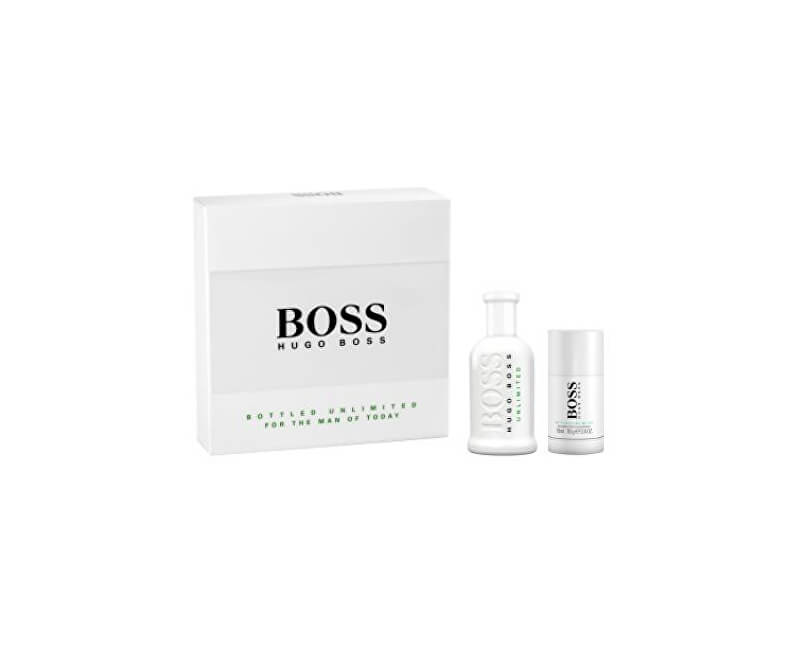 Hugo Boss Boss No. 6 Bottled Unlimited - EDT 100 ml + tuhý deodorant 75 ml