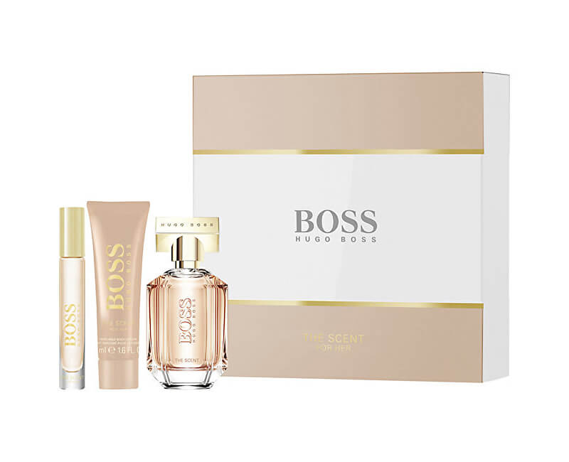 Hugo Boss Boss The Scent For Her - EDP 50 ml + EDP 7,4 ml + tělové mléko 50 ml