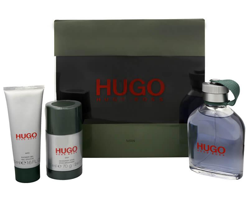 Hugo Boss Hugo - EDT 125 ml + tuhý deodorant 75 ml + sprchový gel 50 ml