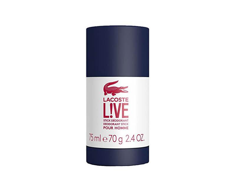 Lacoste LIVE - tuhý deodorant