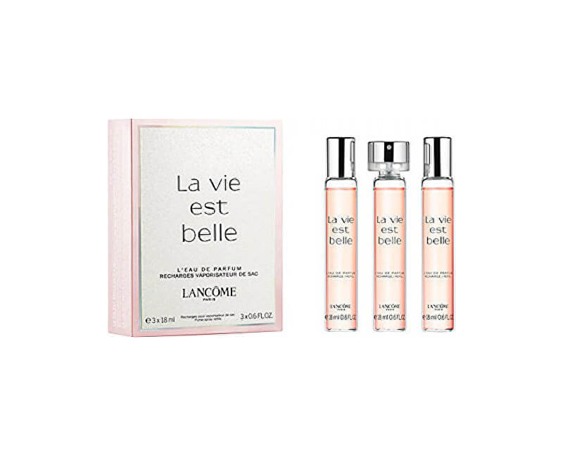 Lancome La Vie Est Belle - EDP - plnitelná (3 x 18 ml)