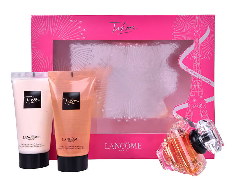 Lancome Tresor - EDP 30 ml + tělové mléko 50 ml + sprchový gel 50 ml
