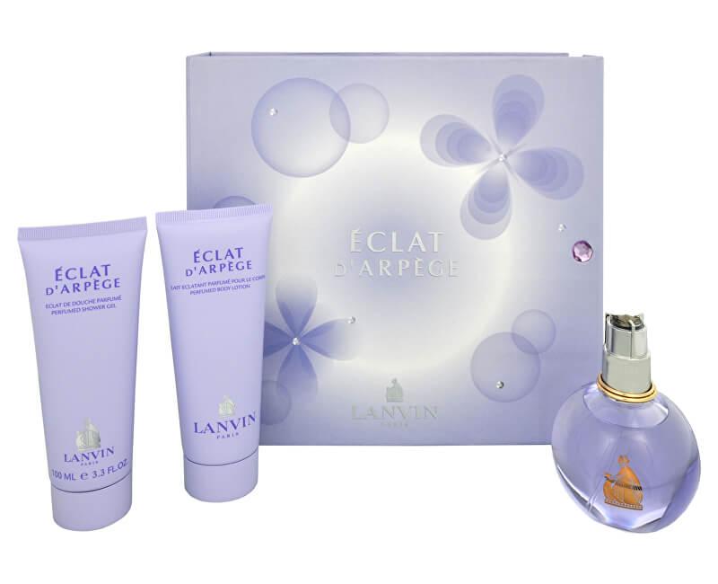 Lanvin Eclat D´Arpege- EDP 100 ml + gel de duș 100 ml + lăptișor de corp 100 ml