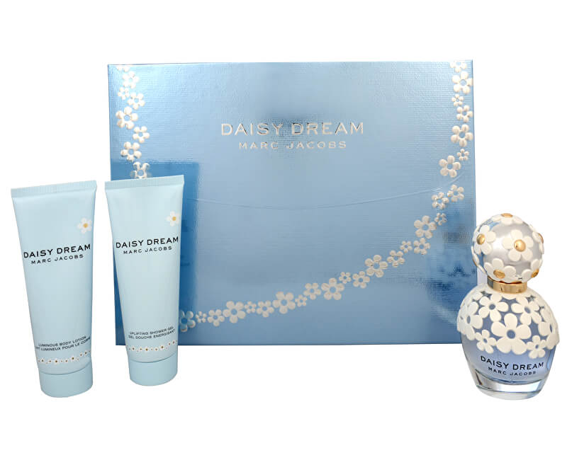 Marc Jacobs Daisy Dream - EDT 50 ml + tělové mléko 75 ml + sprchový gel 75 ml