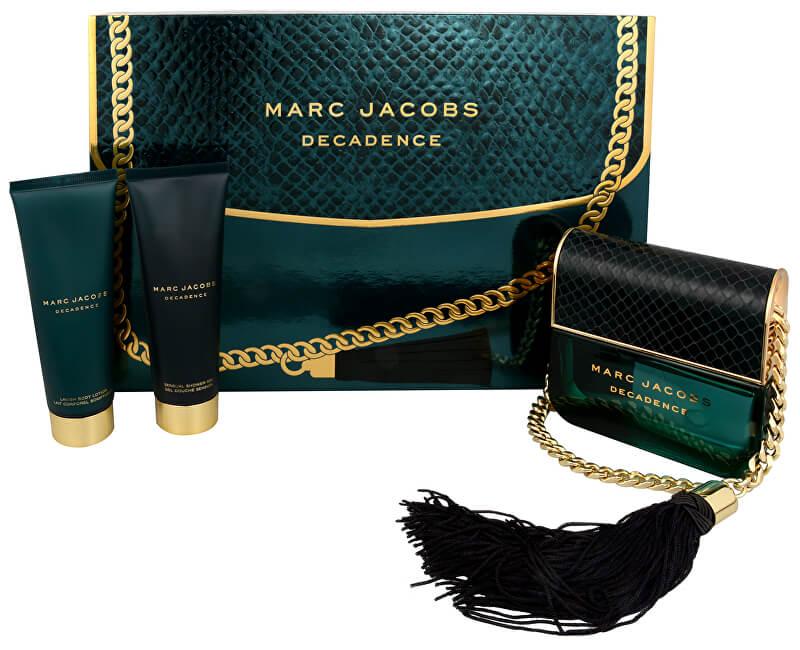 Marc Jacobs Decadence - EDP 100 ml + tělové mléko 75 ml + sprchový gel 75 ml