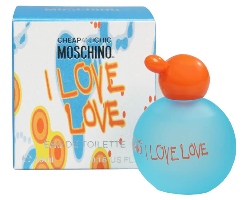 Moschino Cheap & Chic I Love Love - miniatura EDT 4,9 ml