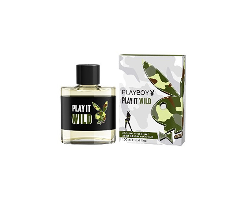 Playboy Play It Wild For Him - After Shave