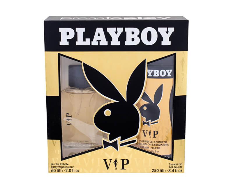 Playboy VIP For Him - EDT 60 ml + sprchový gel 250 ml