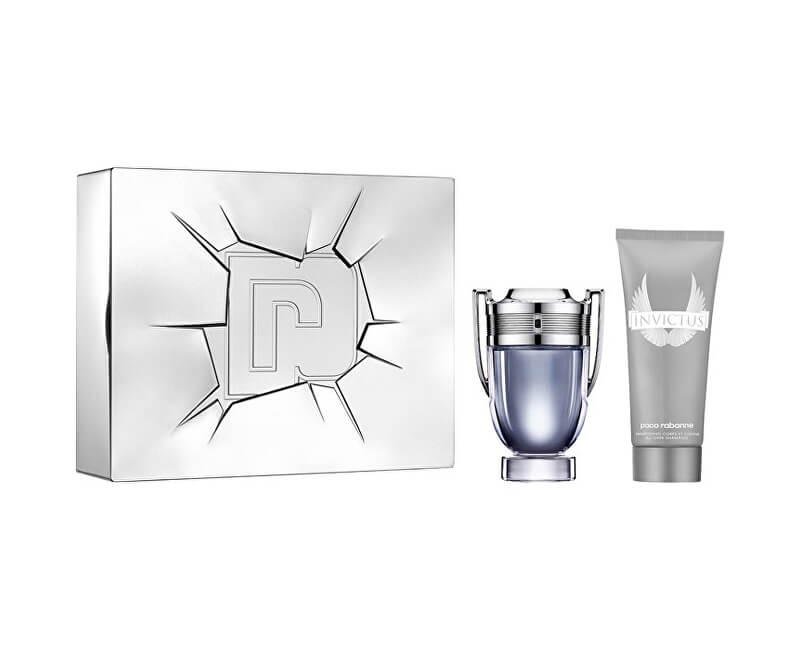Paco Rabanne Invictus - EDT 100 ml + deodorant ve spreji 150 ml