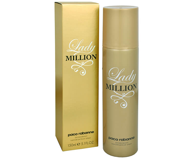 Paco Rabanne Lady Million - deodorant spray