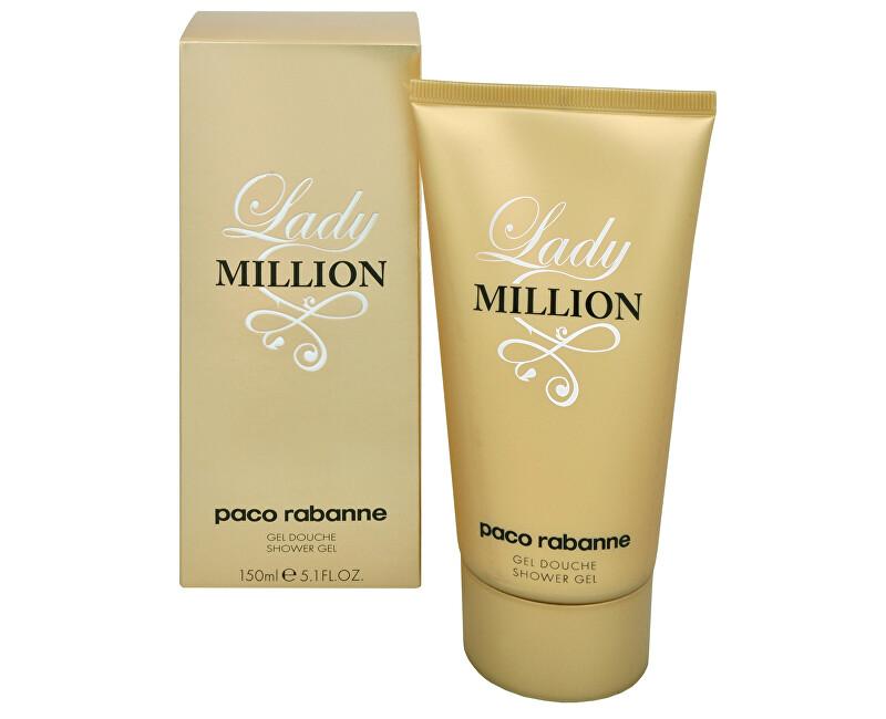Paco Rabanne Lady Million - sprchový gél