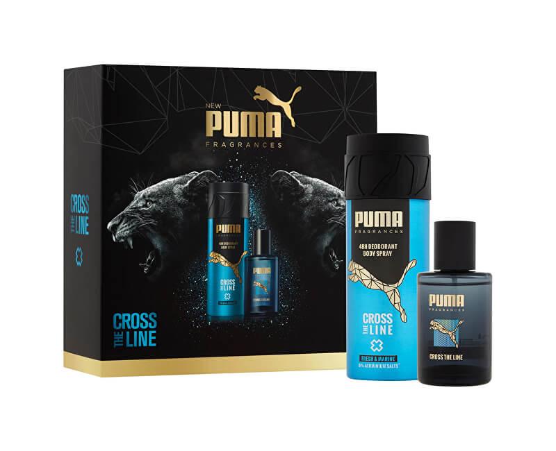 Puma Cross The Line - EDT 50 ml + deodorant ve spreji 150 ml