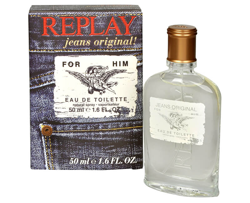 Replay Replay Jeans Original For Him - EDT