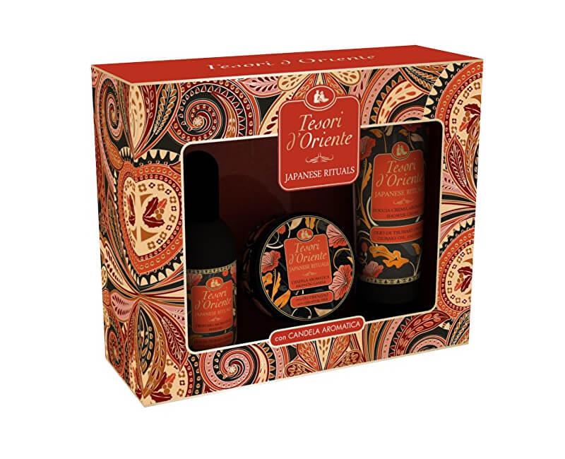 Tesori d´Oriente Japanese Rituals - EDT 100 ml + sprchový gel 250 ml + orientální svíčka