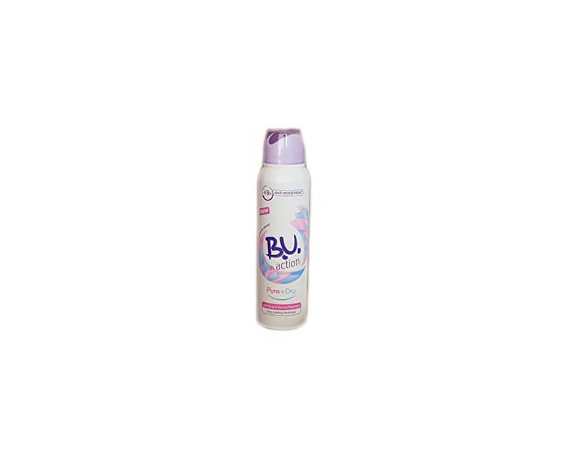 B.U. In Action Pure + Dry - deodorant ve spreji