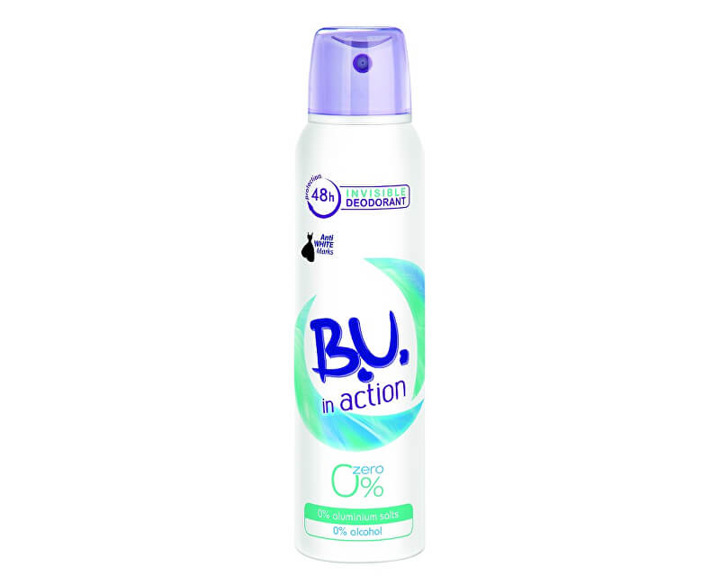 B.U. In Action Zero - deodorant ve spreji