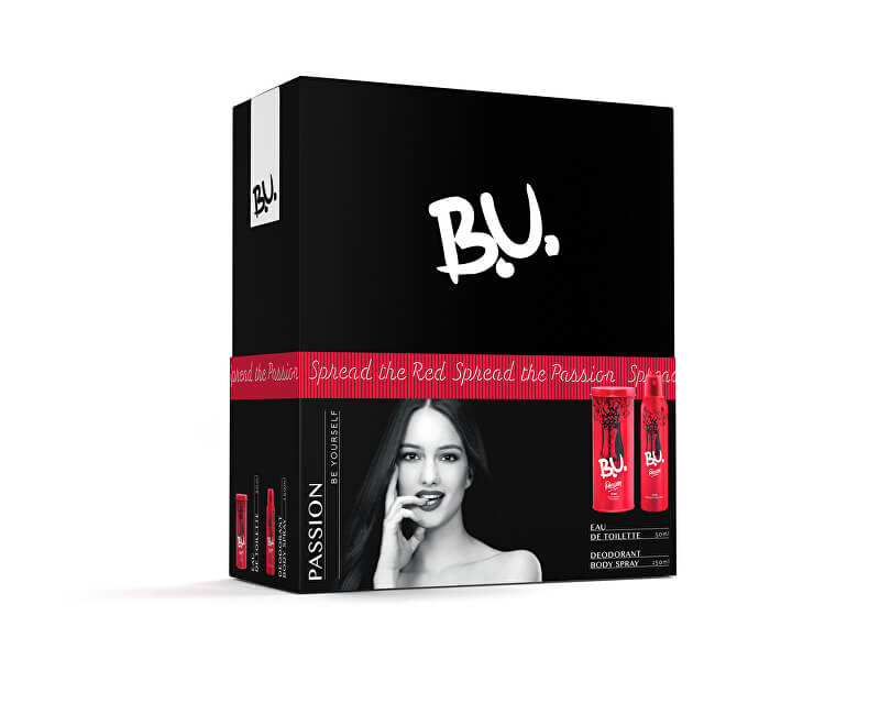 B.U. Passion - EDT 50 ml + deodorant ve spreji 150 ml