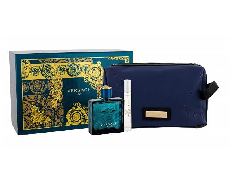 Versace Eros - EDT 100 ml + EDT 10 ml + kosmetická taška Doprava ... cfce8ed364