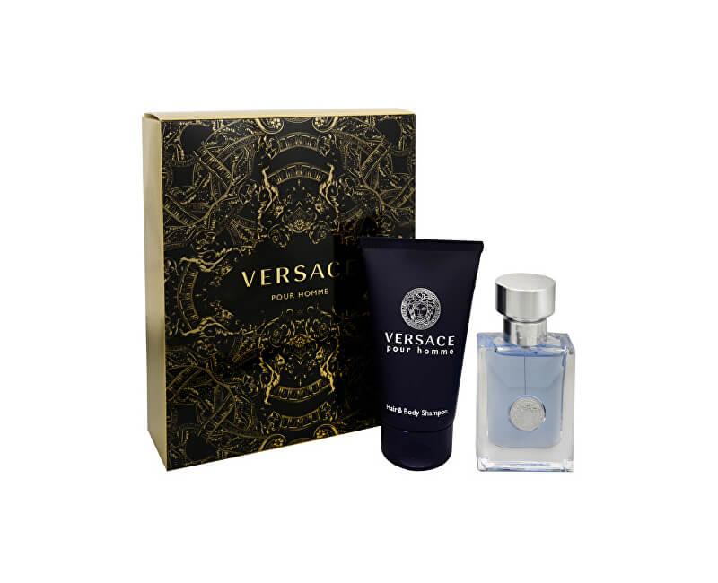 Versace Pour Homme - EDT 30 ml + sprchový gel na na vlasy a tělo 50 ml
