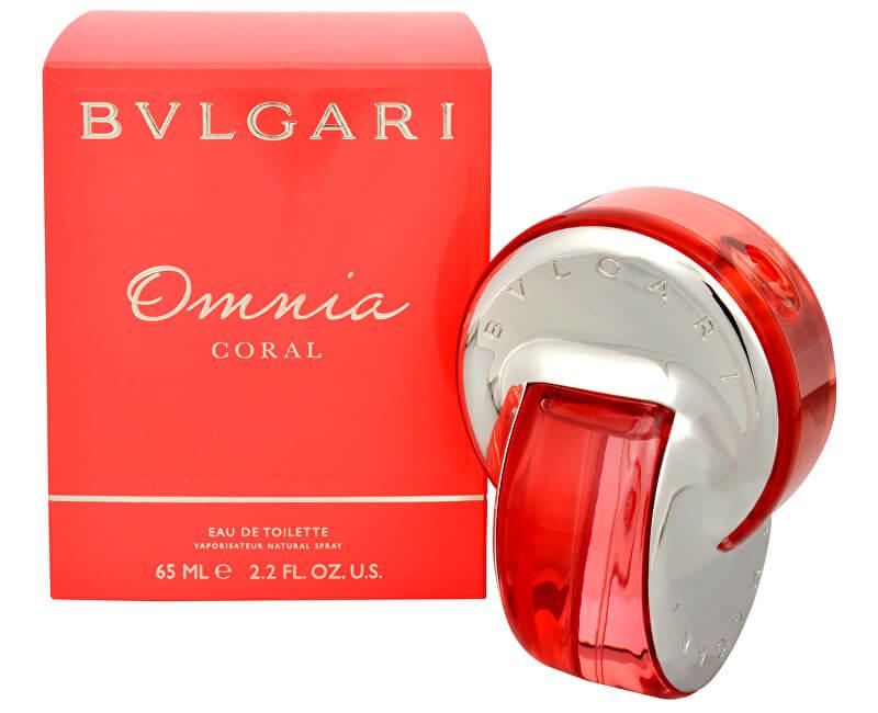 Bvlgari Bvlgari Omnia Coral - EDT - SLEVA - bez krabičky, chybí cca 3 ml