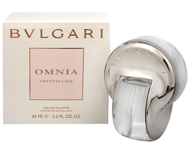 Bvlgari Omnia Crystalline - EDT - SLEVA - bez celofánu, chybí cca 1 ml