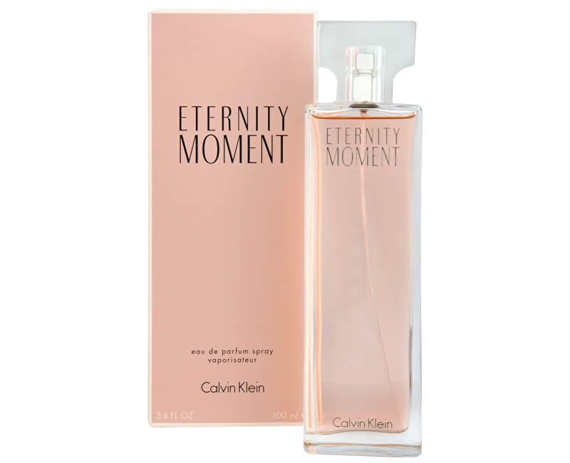 Calvin Klein Eternity Moment - EDP - SLEVA - pomačkaná krabička