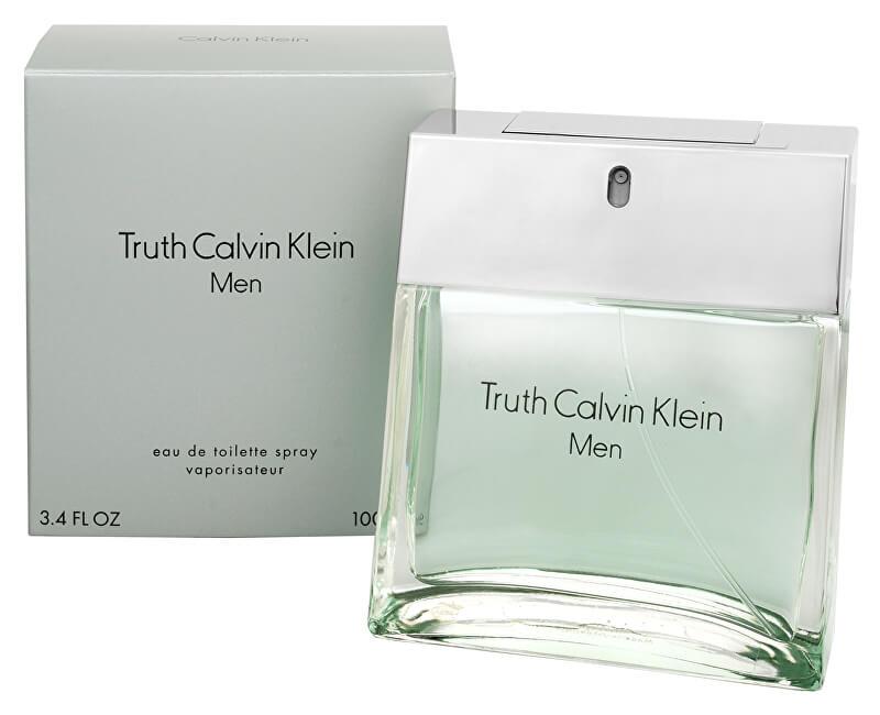 Calvin Klein Truth For Men - EDT - SLEVA - bez celofánu, chybí cca 1 ml