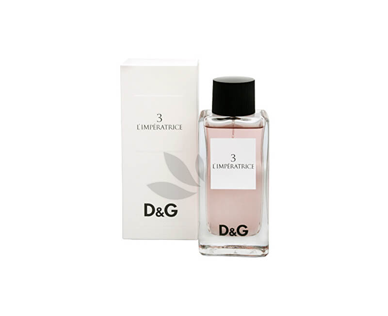 Dolce & Gabbana D&G Anthology L`Imperatrice 3 - EDT - REDUCERE - cutie deteriorata