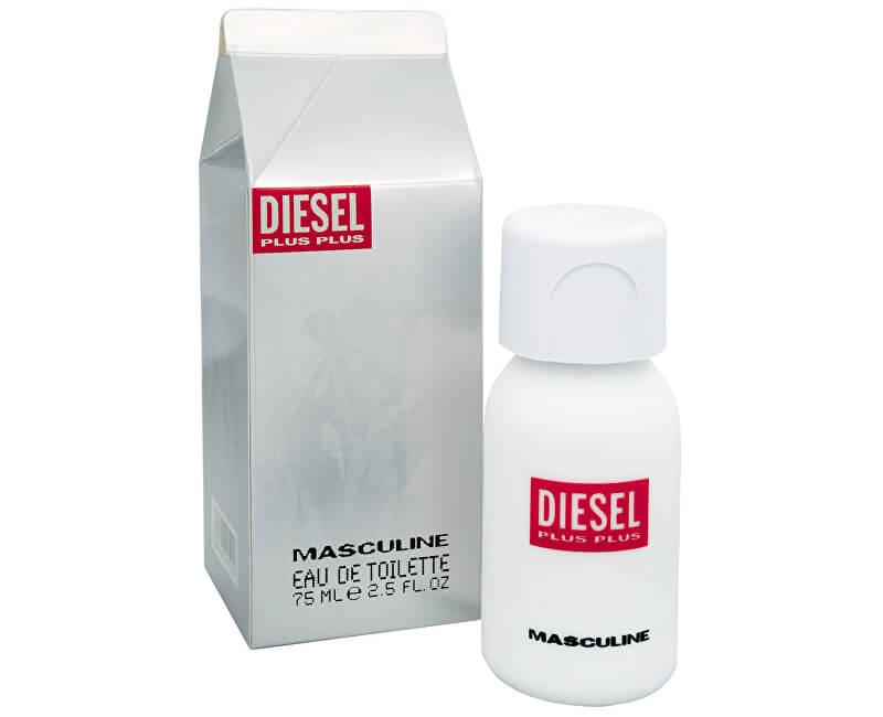 Diesel Plus Plus Masculine - EDT - SLEVA - poškozená krabička