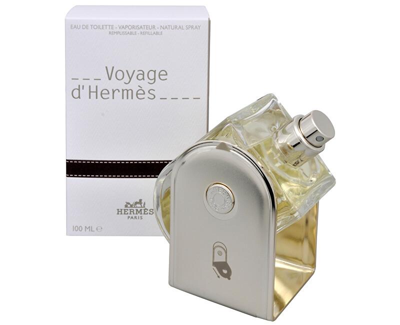 Hermes Voyage D´ Hermes - EDT (plnitelná) - SLEVA - poškozený celofán