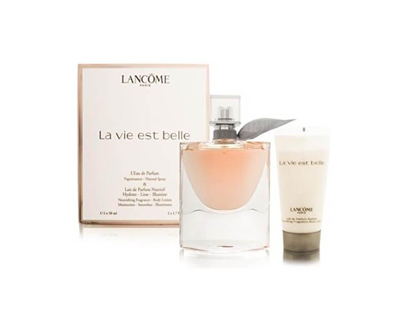 Lancome La Vie Est Belle - EDP 50 ml + tělové mléko 50 ml - SLEVA - pomačkaná krabička
