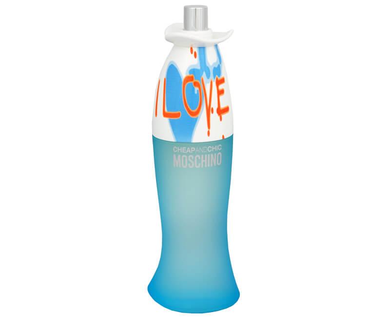 Moschino Cheap & Chic I Love Love - EDT TESTER - SLEVA - poškozená krabička