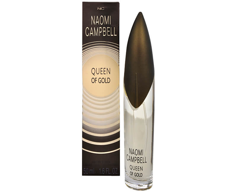 Naomi Campbell Queen Of Gold - EDT - SLEVA - bez celofánu