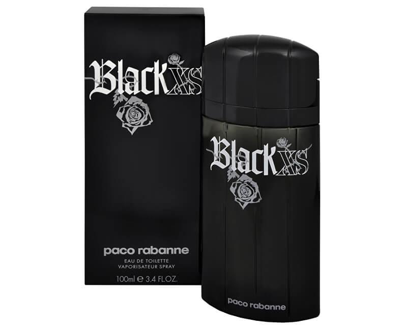Paco Rabanne Black XS - EDT - SLEVA - pomačkaná krabička