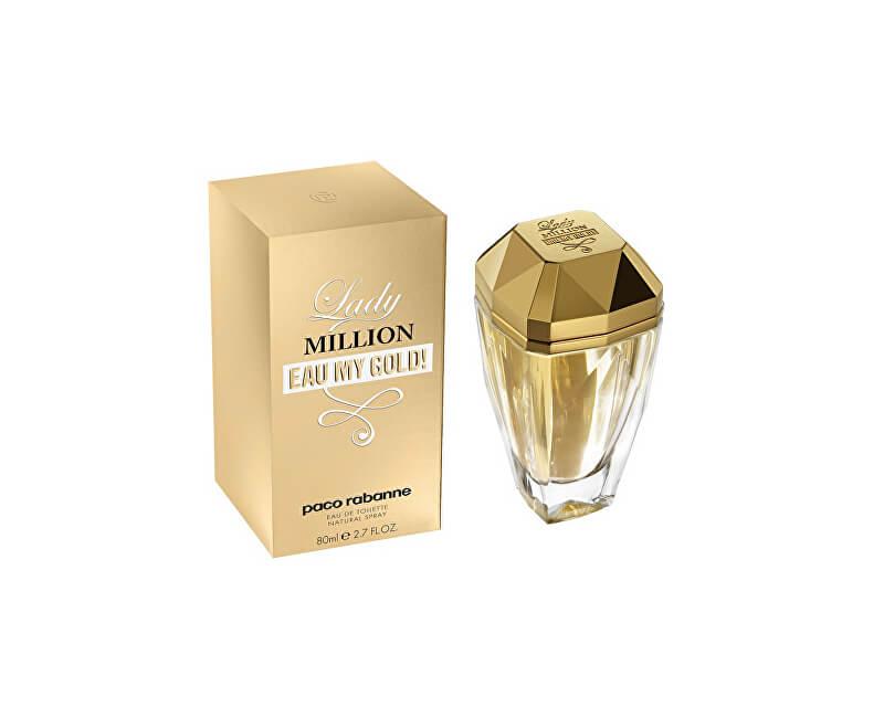 Paco Rabanne Lady Million Eau My Gold! - EDT - SLEVA - chybí krabička