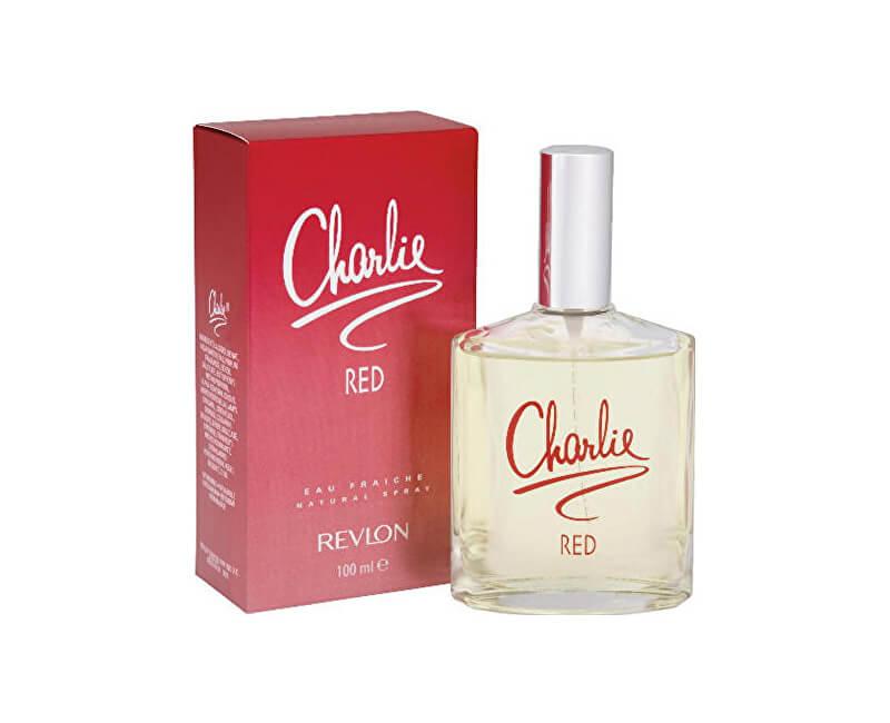 Revlon Charlie Red Eau de Fraiche - odlehčená toaletní voda - SLEVA - poškozená krabička